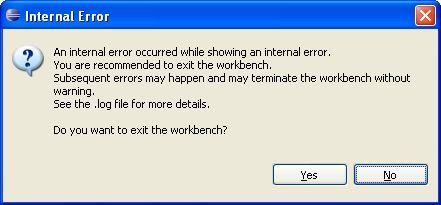 Internal error^2